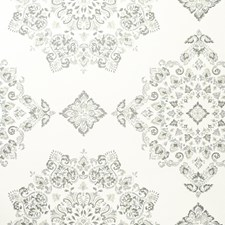Dove/Silver Diamond Wallcovering by Baker Lifestyle Wallpaper