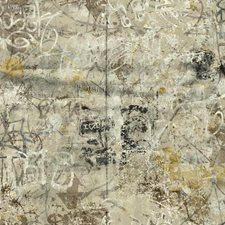 Cream/Brown/Black Novelty Wallcovering by York
