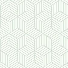 RMK11722WP Striped Hexagon by York