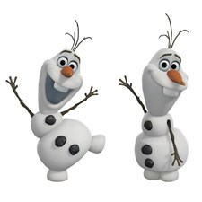 RMK2372SCS Frozen Olaf The Snowman Decal by York