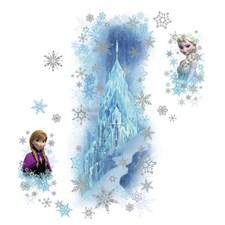 RMK2739GM Disney Frozen Ice Palace Elsa & Anna by York
