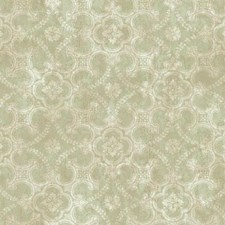 Light Grey/Green/Greenish Beige Geometrics Wallcovering by York