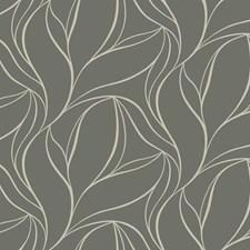 Dark Grey/Grey/Glittering Sand Bohemian Wallcovering by York