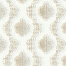 Cream/Dark Grey/Silver Weaves Wallcovering by York