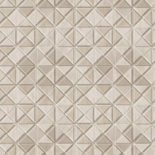 Greige/Beige/Grey Geometrics Wallcovering by York