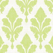 White/Light Grey/Yellow Damask Wallcovering by York
