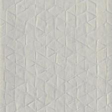 Silver Grey Geometrics Wallcovering by York