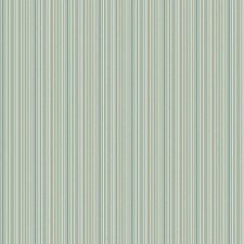 Teal/Aquamarine/White Stripes Wallcovering by York
