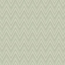 Aqua/Silver/Grey Chevron Wallcovering by York