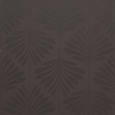 Espresso Leaf Wallcovering by Clarke & Clarke