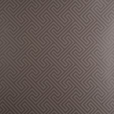 Mocha Geometric Wallcovering by Clarke & Clarke