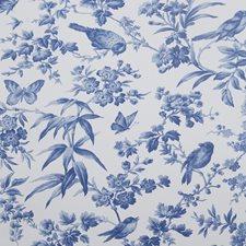 Blue Wallcovering by Clarke & Clarke