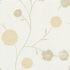 Beige/Rust Botanical Wallcovering by Kravet Wallpaper
