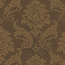 Brown/Yellow/Gold Jacobeans Wallcovering by Kravet Wallpaper