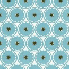 White/Light Blue/Brown Wallcovering by Kravet Wallpaper