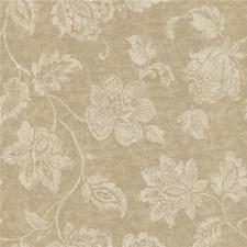 Brown/Beige Botanical Wallcovering by Kravet Wallpaper