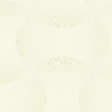 White/Silver Modern Wallcovering by Kravet Wallpaper