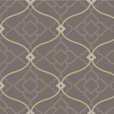 Charcoal/Beige/Grey Lattice Wallcovering by Kravet Wallpaper
