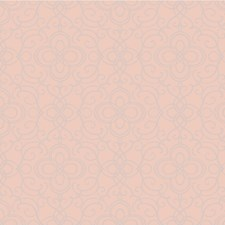 Salmon/Pink Damask Wallcovering by Kravet Wallpaper
