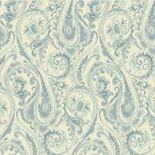 Blue/Light Blue/Ivory Modern Wallcovering by Kravet Wallpaper