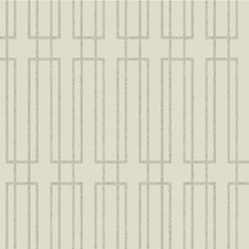 Beige/Ivory/Gold Geometric Wallcovering by Kravet Wallpaper
