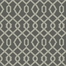 Charcoal/Grey Lattice Wallcovering by Kravet Wallpaper