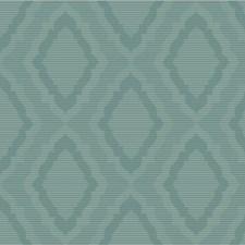 Green/Teal/Metallic Damask Wallcovering by Kravet Wallpaper