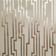 Beige/Metallic Geometric Wallcovering by Kravet Wallpaper