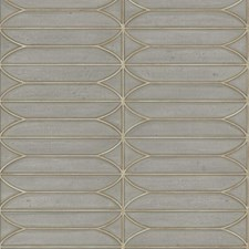 Taupe/Gold Geometric Wallcovering by Kravet Wallpaper
