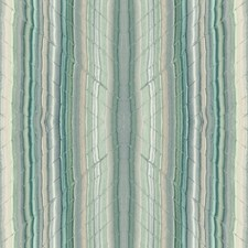 Turquoise/Green/Grey Modern Wallcovering by Kravet Wallpaper