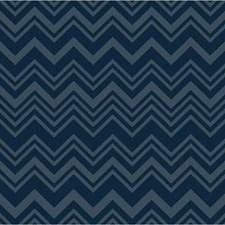 Blue Geometric Wallcovering by Kravet Wallpaper