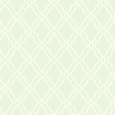 Sea Foam Green/Cream Geometrics Wallcovering by York
