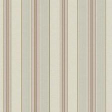 Beige/Greenish Beige/Purple Stripes Wallcovering by York