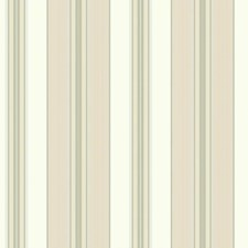 Rich Cream/Light Tan/Taupe Stripes Wallcovering by York