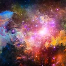 WALS0248 Galaxy Stars Wall Mural by Brewster