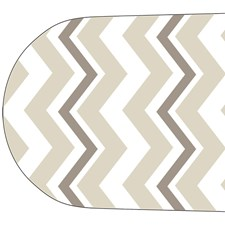 WD1497 Chevron Fan Decals by Brewster