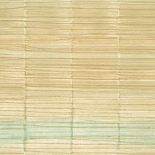 Gold Turquoise Wallcovering by Scalamandre Wallpaper
