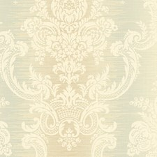 Gold/Green Wallcovering by Scalamandre Wallpaper