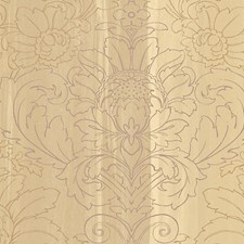 Burgundy/Gold Wallcovering by Scalamandre Wallpaper
