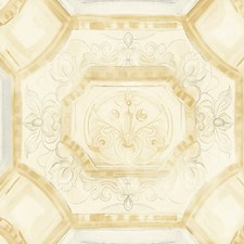 Gold/Silver Wallcovering by Scalamandre Wallpaper
