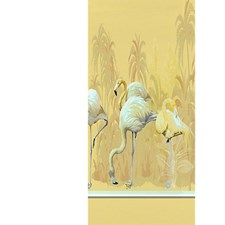 Golden - Right Panel Wallcovering by Scalamandre Wallpaper