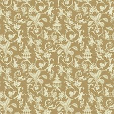 Café Au Lait Tan/Cream Toile Wallcovering by York