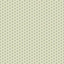 Metallic Silver/Cream/Light Taupe Geometric Wallcovering by York