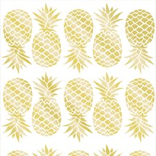 WPK1908 Pineapple Wall Art Kit by Brewster