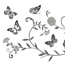 WS40974 Home Wall Sticker by Brewster