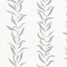 White/Green Wallcovering by Scalamandre Wallpaper