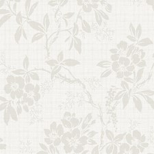 Light Grey Wallcovering by Scalamandre Wallpaper