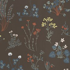 Beige/Brown Wallcovering by Scalamandre Wallpaper